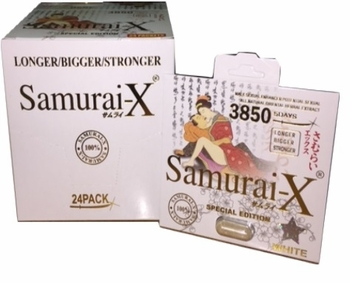 Samurai-X Pill