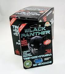 black panther pills